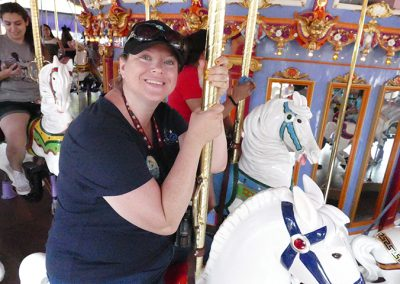 Allison in Merry Go Round