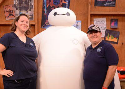 Allison Cychosz with Big Hero