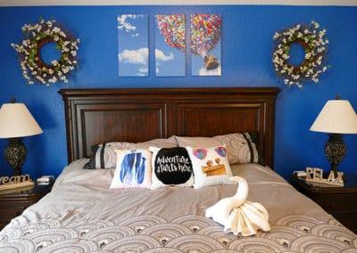Paradise Fall Master Bed