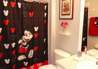 Mickey Mouse Themed bathroom